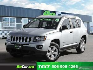 2014 Jeep Compass REDUCED | SPORT | FWD | ONLY $57/WK TAX INC...