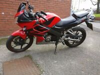 Honda CBR 125 for sale £830 sensible offers only