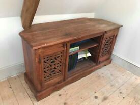 Rustic TV cabinet ideal for shabby chic