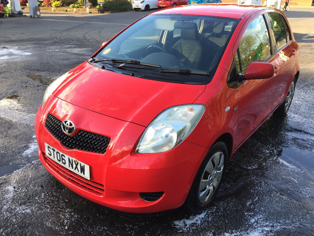 Toyota Yaris 1 4 D4d Diesel 2006 '06 Red 5 Door £30 Cheap Tax Great  Condition Fantastic Fuel Economy | in Ayr, South Ayrshire | Gumtree