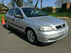 Vauxhall astra 1.6 petrol 2002 long mot