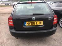 Skoda Octavia 1.9 Tdi Estate 08 reg 10 Months mot HIGH MILEAGE HENCE CHEAP CAR ANY TRIAL INSPECTION