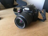 Nikon D3200 with accessories for sale