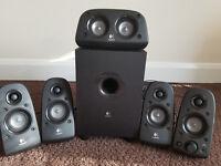 Logitech Z506 5.1 Speaker System 75 Watts Very Good Condition Bargain Price