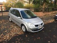 2007 RENAULT GRAND SCENIC 1.6 DYNAMIQUE 7 SEATER PETROL MANUAL 7 SEATER 12 MONTHS MOT BARGAIN!!