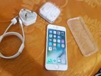 Apple iPhone 6 white 16gb Vodaphone and lebara