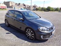 2011 VOLKSWAGEN GOLF GTD 2.0 TDI 170 BHP 5 DOOR HATCHBACK GREY 1 OWNER FROM NEW