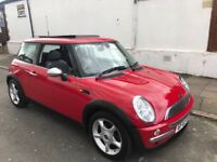2003 MINI COOPER 1.6 WITH PANORAMIC ROOF