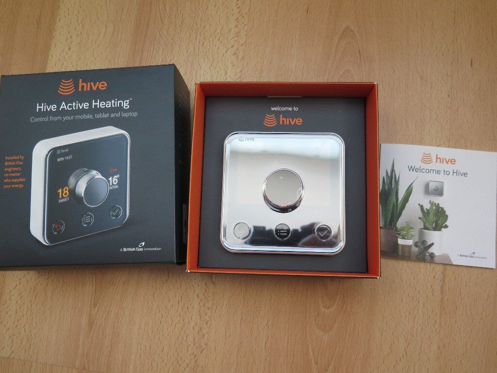 Hive 2 Active Wifi Heating And Hot Water   Thermostat Only