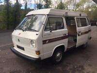*classic Volks wagon *Devon camper auto sleep lift up roof