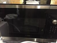Bosch Intergrated Microwave New and Unused