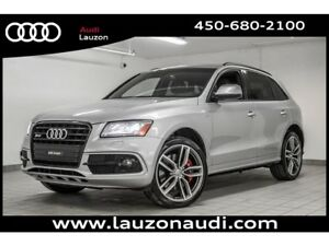 2016 Audi SQ5 3.0T TECHNIK BLACK OPTICS RED CALIPERS 21