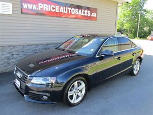 2011 Audi A4 QUATTRO-HEATED LEATHER-SUNROOF!!!