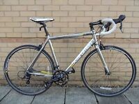 As NEW Boardman Road Comp Bike with carbon forks.