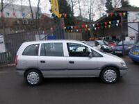 Vauxhall Zafira 1.6 i 16v Club 5dr FANTASTIC RUNNER