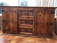 NOW SOLD Mexican pine sideboard