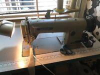 Industrial sewing machine (walking foot)