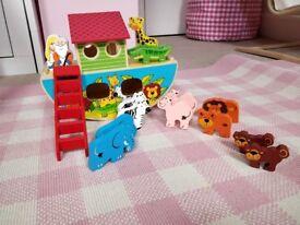 Wooden Noah's Ark from John Lewis