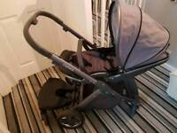 Oyster 2 pram and car seat and buggy board