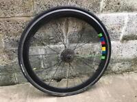 Road Bike Rear Wheel.