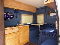 2001 Relay campervan,two berth with cooker,grill,fridge,shower and toilet.12v/240v,Mot May 2017.
