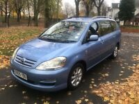 2005 TOYOTA AVENSIS VERSO T-SPIRIT D-4D 2.0 DIESEL 7 SEATER **DRIVES VERY GOOD + GREAT FAMILY MPV**