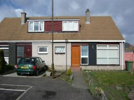 Unfurnished 2 bedroom semi detached house in Stoneybank area of Musselburgh