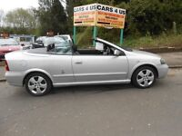Vauxhall coupe convertible 1.8 cc petrol comes with full 12 month m-o-t drives very nice .....