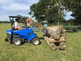 MultiOne 5.3 Compact articulated loader similar to avant, Vermeer and kanga
