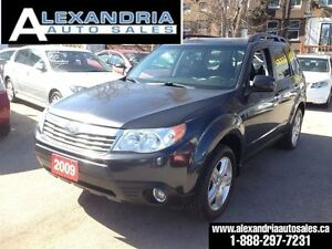 2009 Subaru Forester X Limited leather 144 km