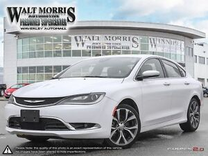 2016 Chrysler 200 C - LEATHER, PWR SUNROOF, HEATED SEATS