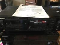 Pioneer retro tape deck hifi separates