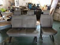 Rear van seats double & single