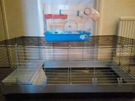 Guinea pig/Rabbit and Hamster Cages