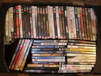 SELECTION OF 65 DVD'S