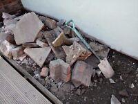 FREE Bricks, rubble/hardcore for collection