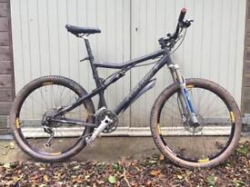 Santa Cruz men's full suspension mountain bike