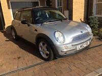 Mini Cooper 60k Miles, Silver, Service History, Very Good condition. Well maintained. Very Low miles