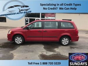 2013 Dodge Grand Caravan REAR STOW & GO! FINANCE NOW!