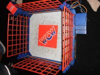 wcw wwf vintage wrestling ring by galoob 1991