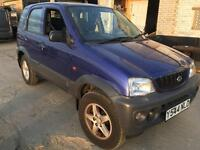 Daihatsu terios 1.3 4x4 - spares/repairs/off-road