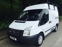 Clean 2012 FORD TRANSIT Desirable Semi High Roof Model 6 speed and rare 125bhp low miles fsh