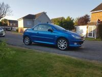 Peugeot 206cc 06 PLATE LOW MILEAGE 26,000 perfect condition private plate not included