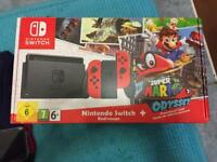 Like new Nintendo switch mario odyssey edition no game