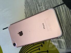 Apple iPhone 7 rose gold 32gb for Sale