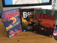 Banshee dvd box sets 1,2 and 3....watched once.