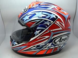 Arai Helmet RX-7 Corsair Colin Edwards Red 8 Stars Small replica moto gp WSBK