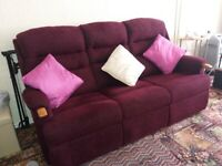 HSL sofa and arm chair (Ripley) 6 months old