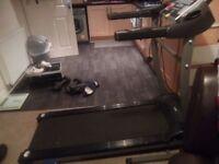 Pro fitness treadmill Motorised