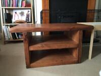 Handmade solid coffee table. Beautiful and unique